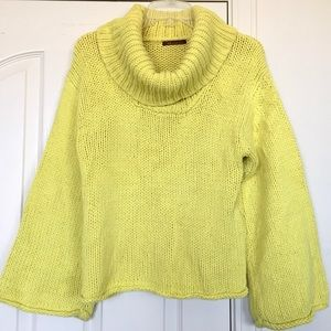 525 America Cropped Oversized Chunky Sweater